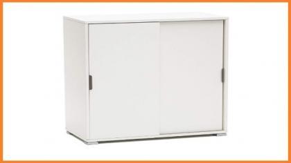 Colore Bianco Melamina 73x37x180 h cm 13Casa Kawai A6 Armadio multiuso